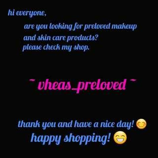 Please check out my shop ❤️ vheas_preloved
