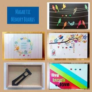 Magnetic Memory Boards