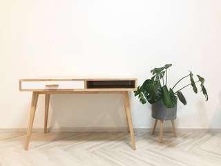 Imported Brand New Solid Wood Designer Work Desk