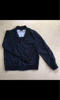Navy Blue Harrington Jacket (L)