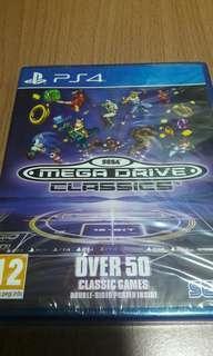 PS4 全新 英文版 SEGA MEGA DRIVE CLASSICS