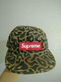 Supreme Camo Cap