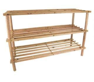 3-Tier wooden Shoe Rack #50TXT