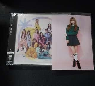 IZONE Wizone Version Japanese Single with Yena Photo