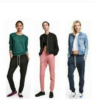 H&M Sweatpants Celana Sporty NEW