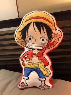 Onepiece Luffy plush pillow