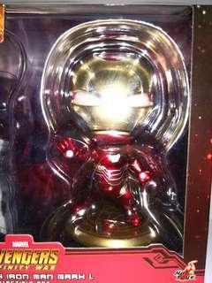 拆售 mark L 電鍍版 LED 眼 鐵甲奇俠 Ironman marvel hottoys cosbaby avengers infinity war