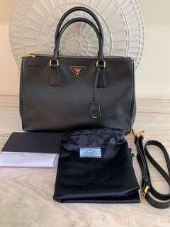 AUTHENTIC Prada Saffiano Bag Black