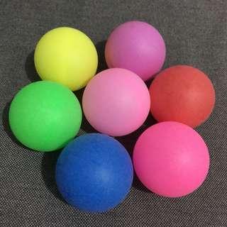 Coloured Pingpong Balls