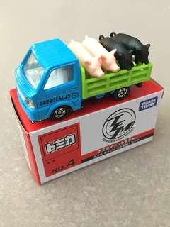 Tomica No4 Event Model Suzuki Pig Carrier Truck CNY Zodiac 2019 Lunar New Year