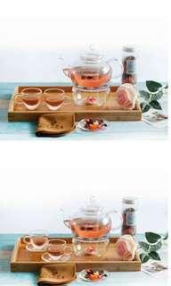 🚚 Tea Pot + 4 Cups