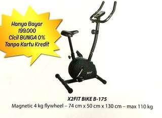 X2Fit Magnetic Blue B-175 Cicil Harga Promo Bunga 0%