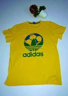 Adidas Originals Mens Country Brazil Yellow Green Original