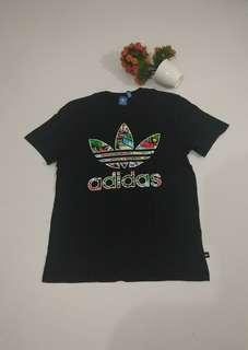 Adidas Originals Trefoil Fill Black Tee Original