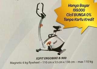 X2Fit ERGOBIKE B-900 Cicil Harga Discount Bunga 0%