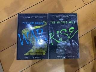 Yellow Brick War and The Wicked Will Rise by Danielle Paige