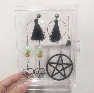 🚚 👂🏻造型耳環/耳針 #半價衣服市集