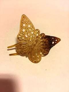 Butterfly hair clip 蝴蝶髪夾