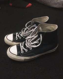 Converse 70s High Tops Black White
