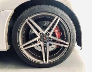 🚚 Brembo 6 Port and  4 Port Performance Brake Set