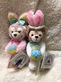 🚚 迪士尼達菲復活節兔子吊飾