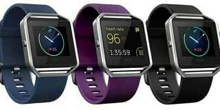Fitbit blaze and charge 2 heart fitness activity