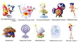Takashi murakami , superflat museum full set of 10 pieces