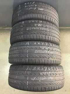 215/50/17 hufly used tyre 1pc $40