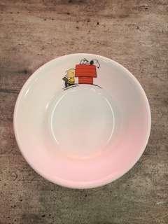Peanuts Corelle soup bowl
