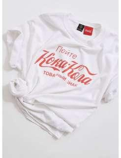 🚚 Urban outfitters cropped COCA COLA SHIRT