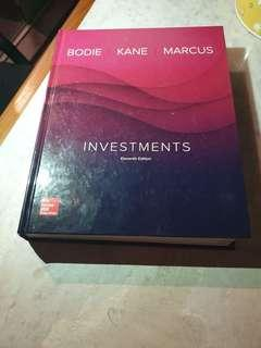 🚚 Investment Analysis textbook
