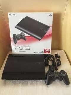 Ps3 Super slim Fullset free 20games