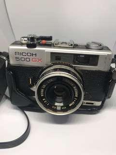 Analog camera Ricoh 500 GX