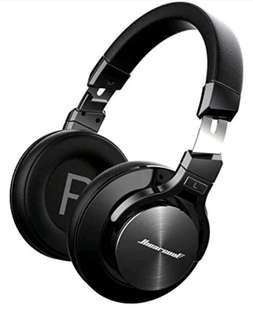 Active Noise Cancelling Headphones Hiearcool L1 Bluetooth Headphones with Microphone Hi-Fi Stereo Bass