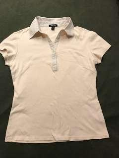 🚚 OL棉質上衣 *有瑕疵,請參考圖片 #半價衣服市集