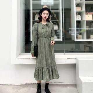 🆕BRAND NEW Korean Ribbon Dress