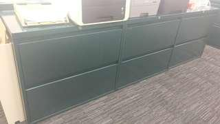 辦公室儲物櫃 steelcase 文件櫃 filing cabinet