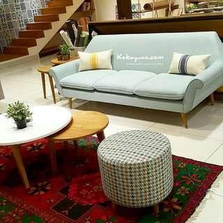 Sofa jobi & meja Chloe Living Set