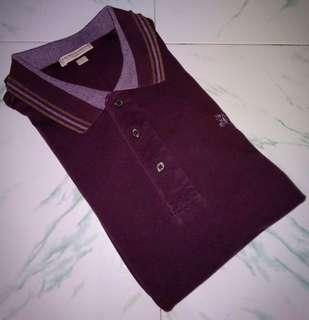 Polo Shirt Lengan Panjang Burberry