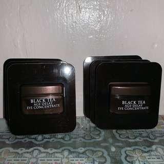 fresh 一套6件 紅茶抗皺緊緻精華眼霜 BLACK TEA AGE-DELAY EYE CONCENTRATE