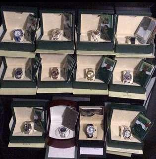 Watches for sale. Message for details