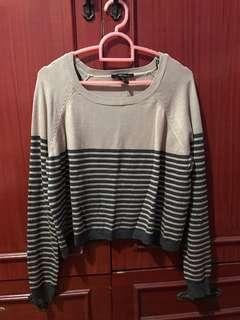 Forever 21 cropped top (stripes)