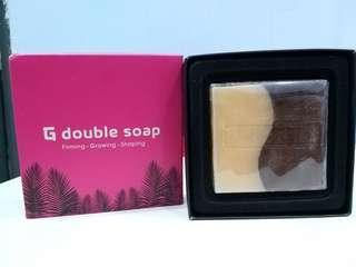 FREE face mask worth Rm6.90/pcs !55%off!!! G DOUBLE SOAP