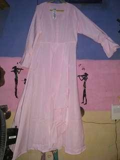 Gamis pink zahra