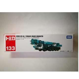 全新日版 Tomica 133 KOBELCO ALL TERRAIN CRANE KMG5220 起重機 吊車 TAKARA TOMY
