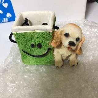 🚚 狗狗牙籤盒.置物盒