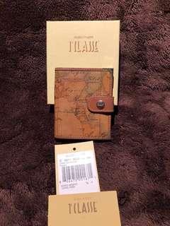 IlLASSE Alviero Martini map credit card holder 意大利 地圖 卡片套 名片套 信用卡套 卡包
