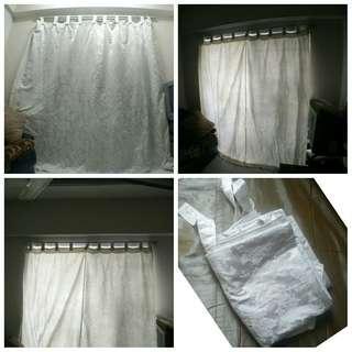 Sliding Door Curtain (one big piece) #50TXT