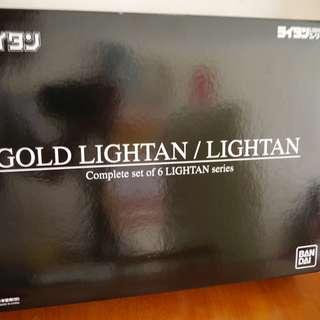 Bandai 超合金 Gold Lightan Complete Set Box Part 1 黃金戰士