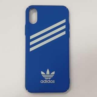 全新iPhone X/Xs機殼📱 藍色 Adidas Original Phone Case